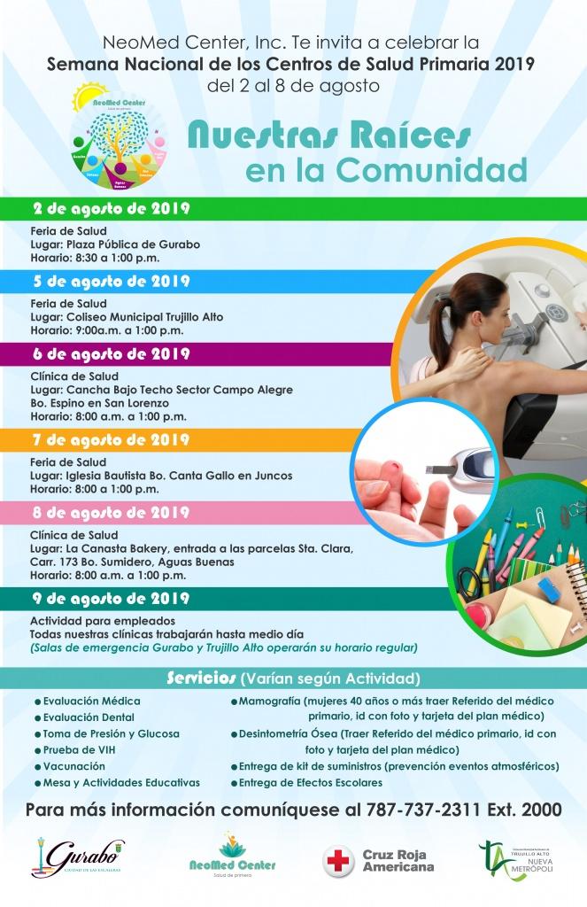 Semana Nacional Centros Salud